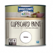 Johnstone's White Cupboard paint 750ml